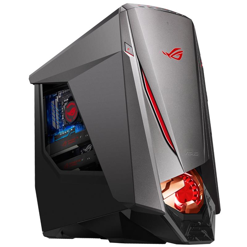 华硕玩家国度ROG GT51CH-I77BAM2游戏台式机 (Windows 10 Home /i7-7700K/GeForce? GTX 1070 8GB/16G/2TB+512G SSD深灰色)