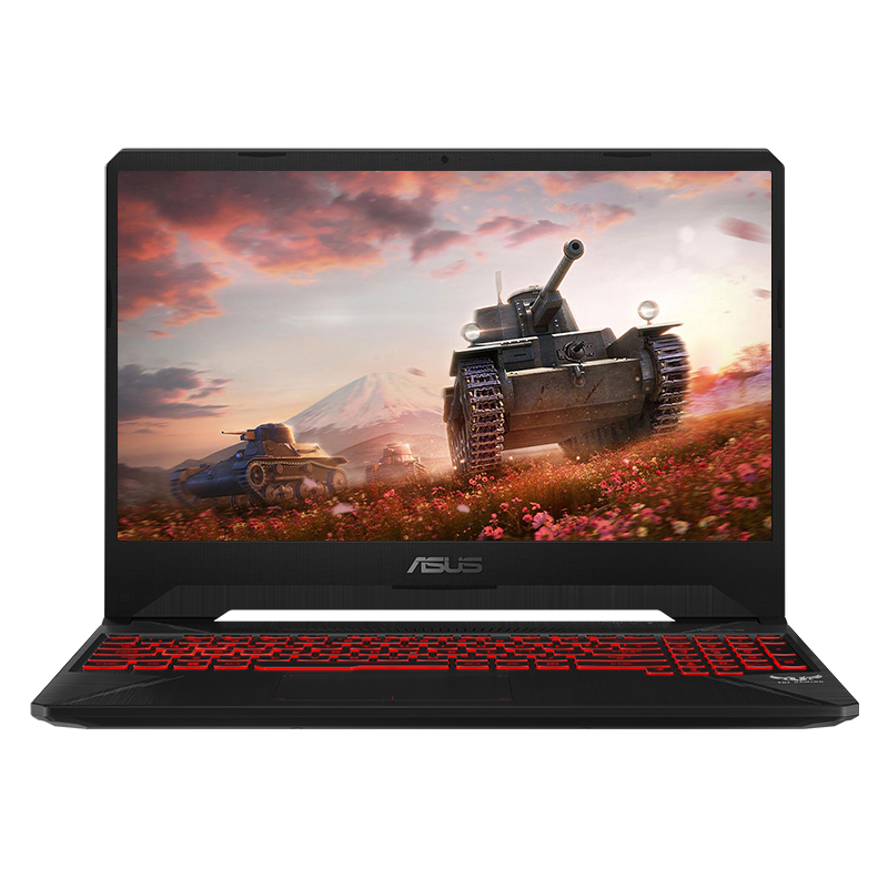 飞行堡垒6  15.6英寸游戏笔记本电脑(Windows10home /i7-8750H /8G /GeForce? GTX 1050ti 4G/256GSSD+1T / IPS) -火陨