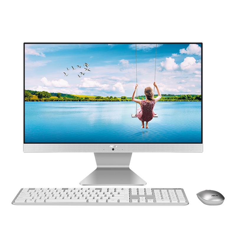 【12.12提前購】傲世一體機 V4000(i3-8130U/4GB/1TB HDD+128GB SSD/21.5英寸)-白色