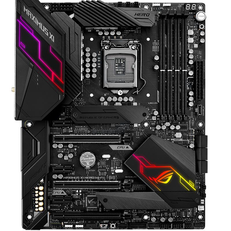 ROG MAXIMUS XI HERO (WI-FI) 主板 M11H(Intel Z390/LGA 1151)
