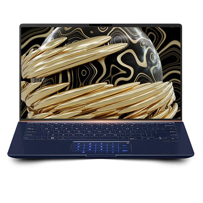 【数字键盘版】灵耀Deluxe14 尊爵蓝 14英寸周全屏轻浮商务办公金属笔记本电脑