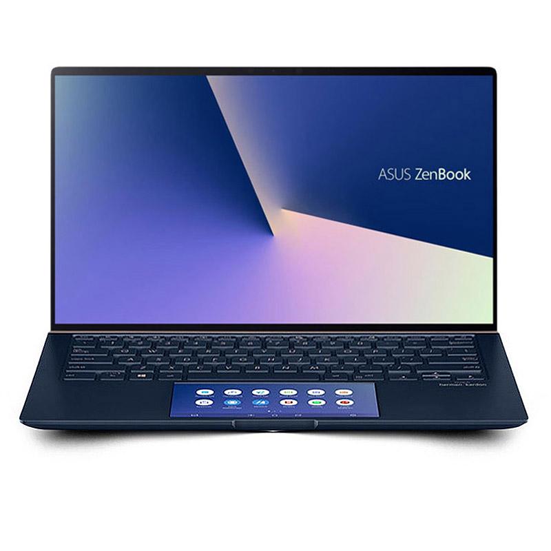 灵耀Deluxe14s 尊爵蓝 十代i7 14.0英寸双屏轻薄办公笔记本电脑