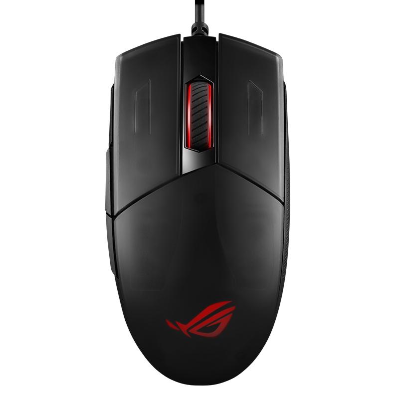 ROG 影刃2 游戏鼠标 有线鼠标 RGB发光 鼠标宏 电竞 玄色 6200DPI