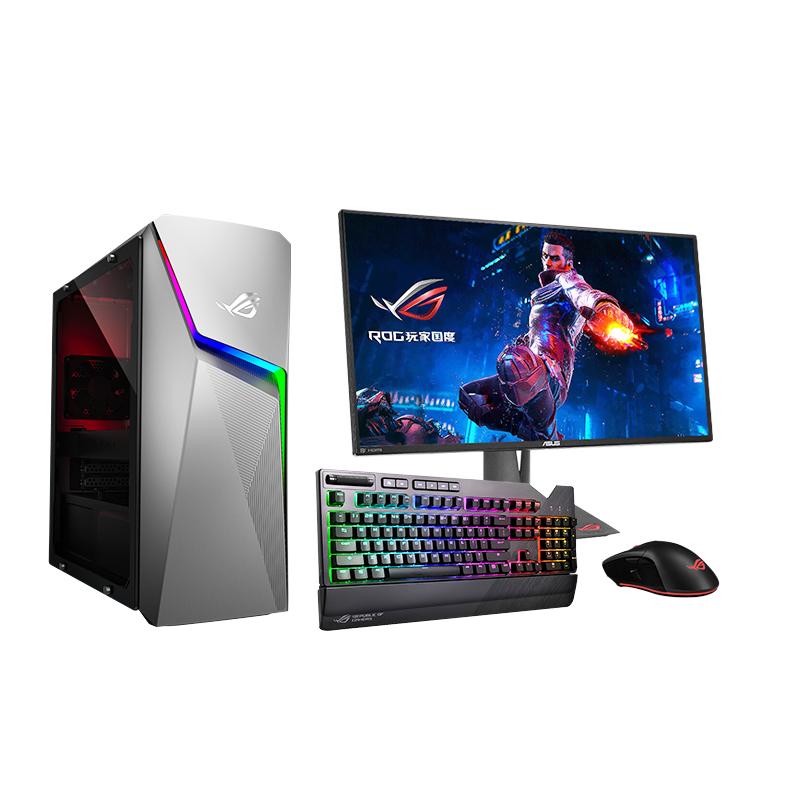 ROGGL10CS 游戏主机(Windows 10/i7-9700K/NVIDIAGeForceRTX2060 6G/8G内存/1TBHDD+512GBSSD)+ROG电竞显示器PG279Q+ROG 玩家国家 Flare 电竞键+玩家国家Gladius II-P502光学电竞鼠标