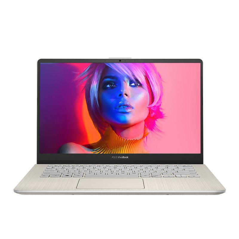 靈耀S 2代 S4300FN 冰鉆金 -14英寸炫彩窄邊框輕薄本(Windows10home/i5-8265U/8G內存/512GB SSD硬盤/MX150顯卡)