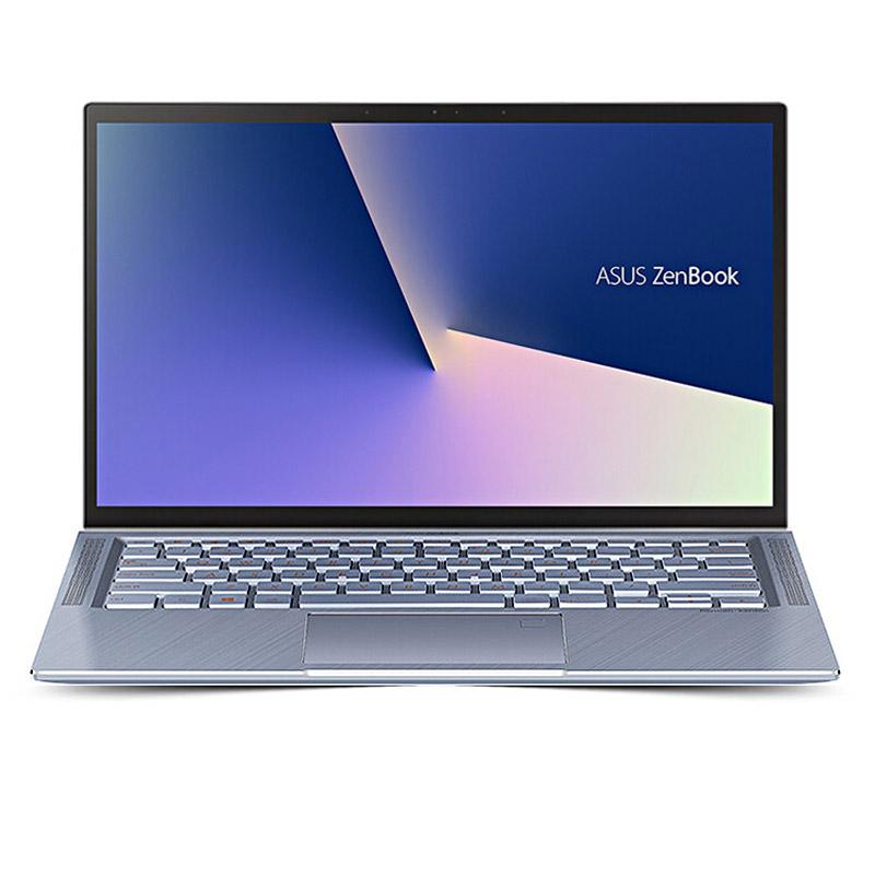 灵耀Deluxe14 钛金版蓝色 八代i5 14.0英寸创意设计轻浮笔记本电脑