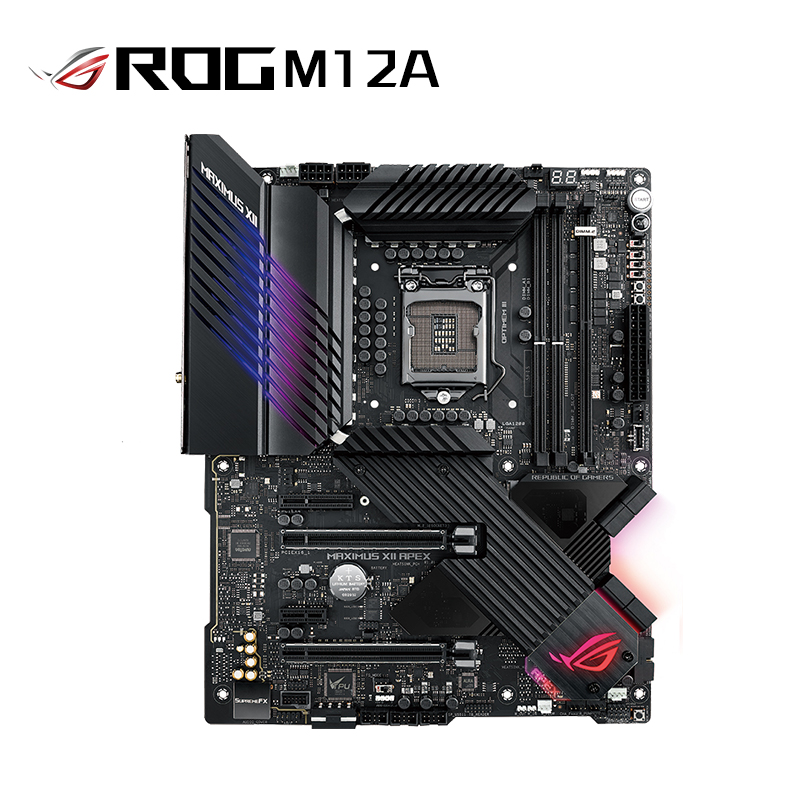 ROG MAXIMUS XII APEX主板M12A 支持 CPU 10900K/10700K(Intel Z490/LGA 1200)