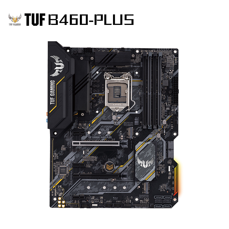 TUF GAMING B460-PLUS 电竞特主板 支持 CPU 10500/10400/10400F(Intel B460/LGA 1200)